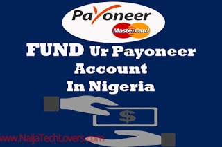 Fund Payoneer card