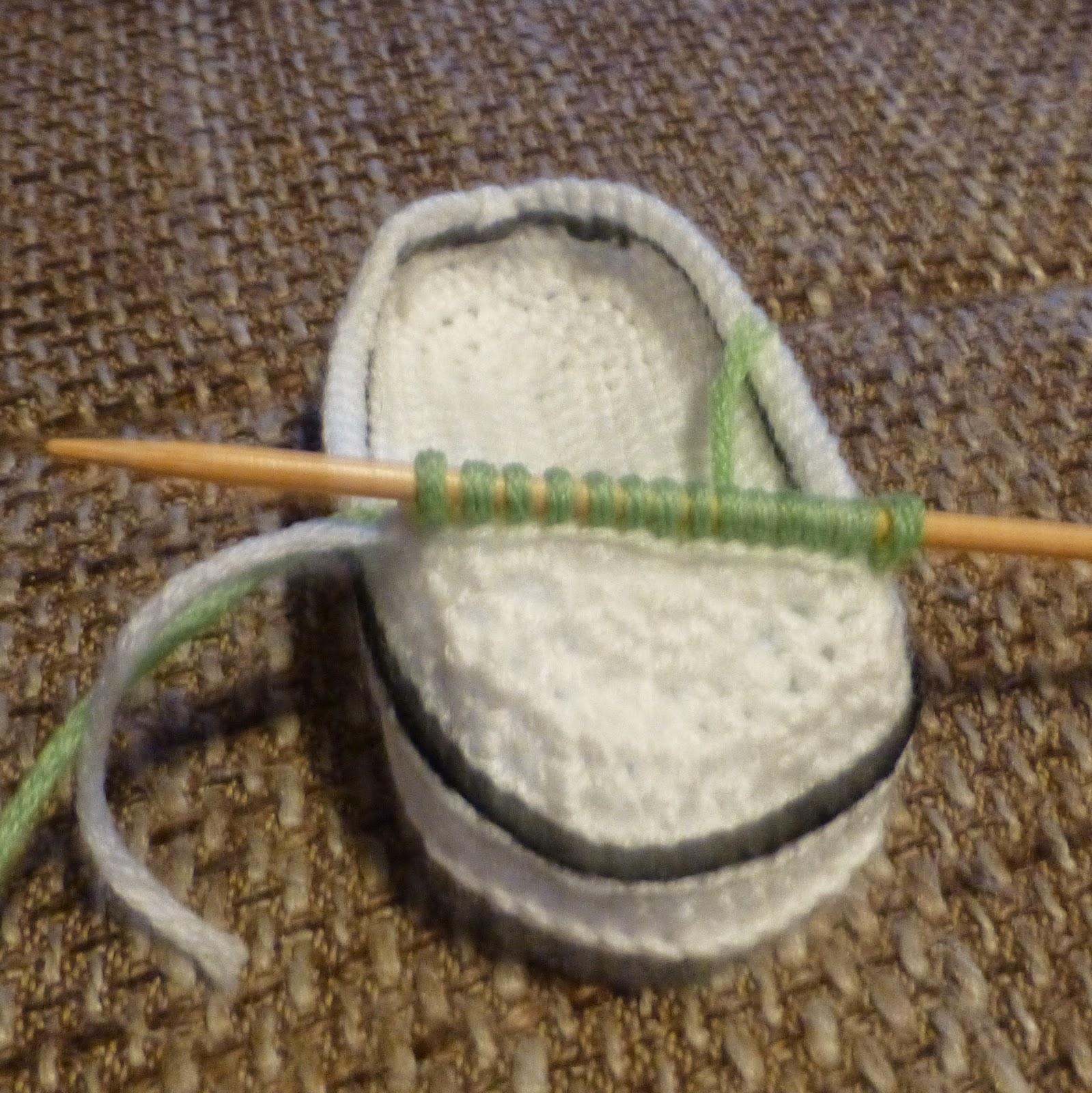 Streß Stricken Baby Chucks Häkel Und Strickanleitung