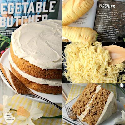Parsnip-Ginger Layer Cake | Renee's Kitchen Adventures