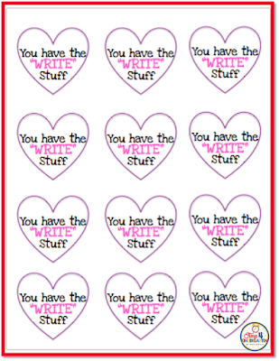 Free Teacher Valentines- No time to create your own.  All you need are some pencils and a printer.  Just print, cut and attach.