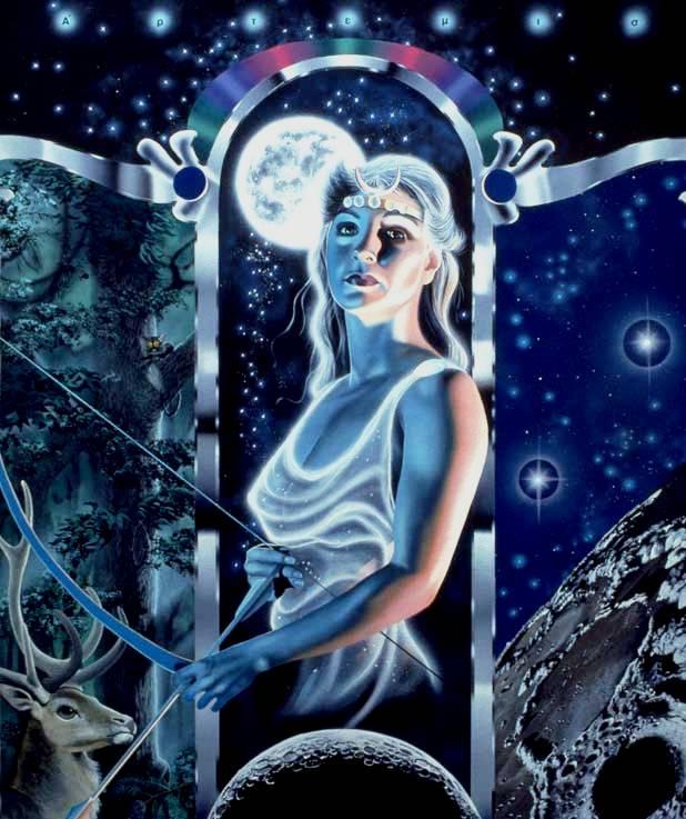 Resultado de imagem para deusa artemis