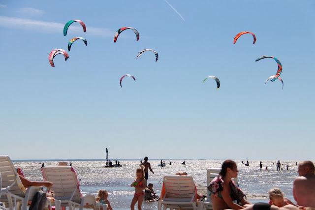 Pärnu kite surfing