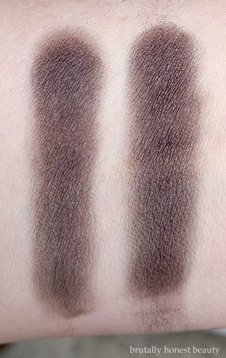 Wet N Wild Comfort Zone comparison swatches