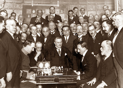 Partida de ajedrez Golmayo vs. El Rey Alfonso XII, 18 de mayo de 1921