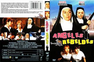 Carátula: Ángeles rebeldes 1966