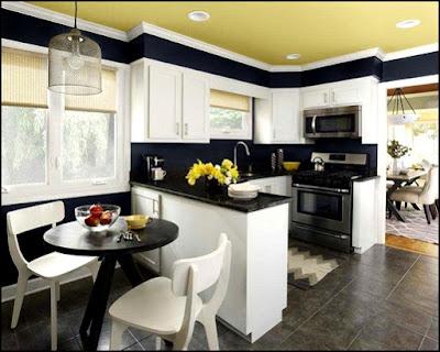 Sedikit Tips Dalam Mendesain Ruang Makan Dan Kitchen Set Minimalis