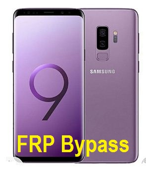 Samsung Galaxy S9 frp bypass and google account reset