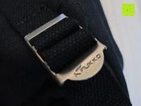 """verstellbar: Lederrucksack aus Segeltuch Herren/Damen Rucksäcke Rucksack für den täglichen Freizeitgebrauch 13.3""""(L)*19.6""""(H)*7""""(B)"""