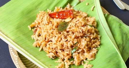 Sandhiya S Cookbook Puliyotharai Tamarind Rice