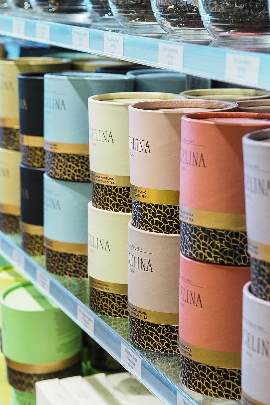 Angelina flavoured teas for sale