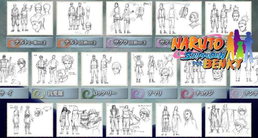 Naruto Shippuden por Ben-ky: [Análisis] Diseños de los personajes de ...