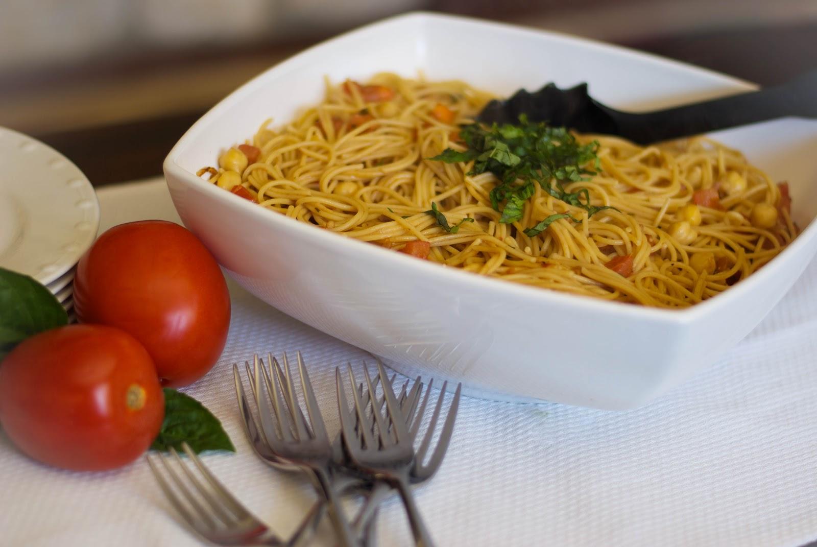 Bruschetta Chicken Pasta Salad - Cafe Delites   Bruschetta And Spaghetti