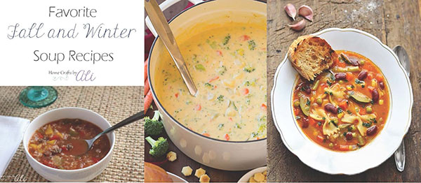 favorite fall and winter delicious soups