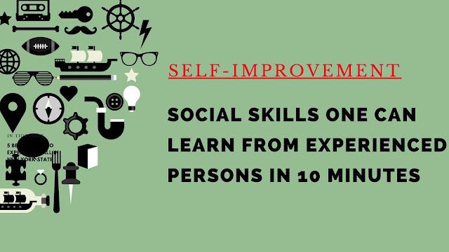 focus on self- improvement