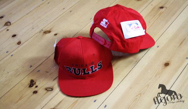 cb4be75d473 Chicago Bulls Starter Snapbacks - Agora Clothing Blog