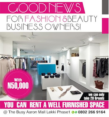 Good news for fashion and beauty businesses with just 50 000 you can rent a space at aaron mall - Rent space for small business minimalist ...