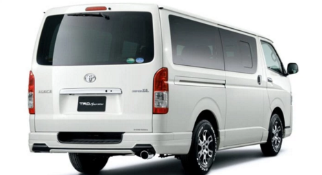 2017 Toyota Hiace Redesign