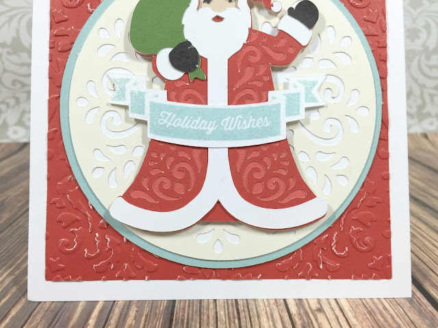 Cricut Holiday Wishes Card