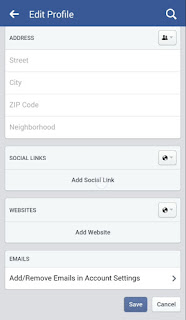 طريقة إضافة رابط للأنستقرام و مواقع التواصل الإجتماعي إلى الصفحة الشخصية للفيس بوك