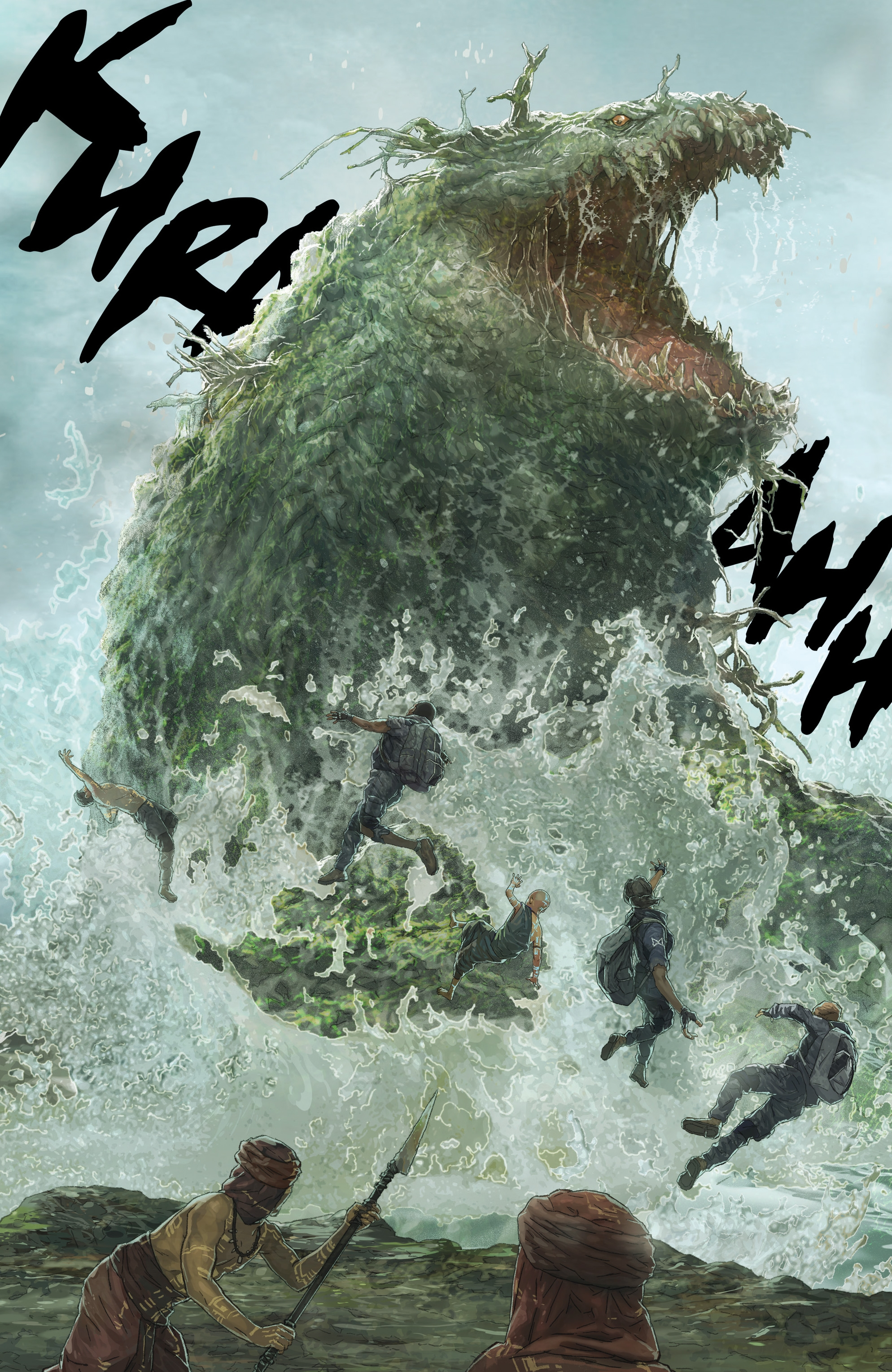 Read online Skull Island: The Birth of Kong comic -  Issue #2 - 17