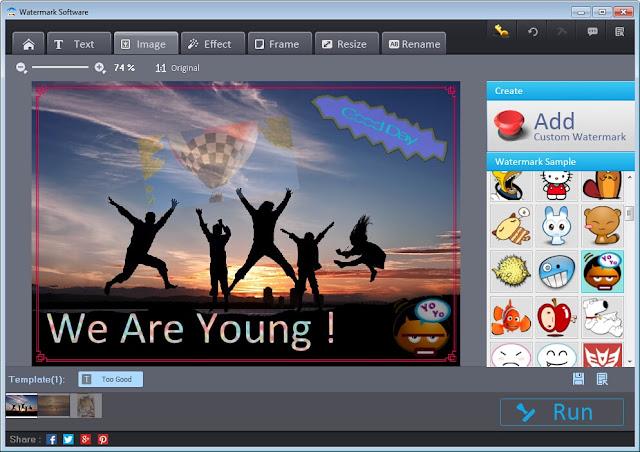 photo watermark software free download full version