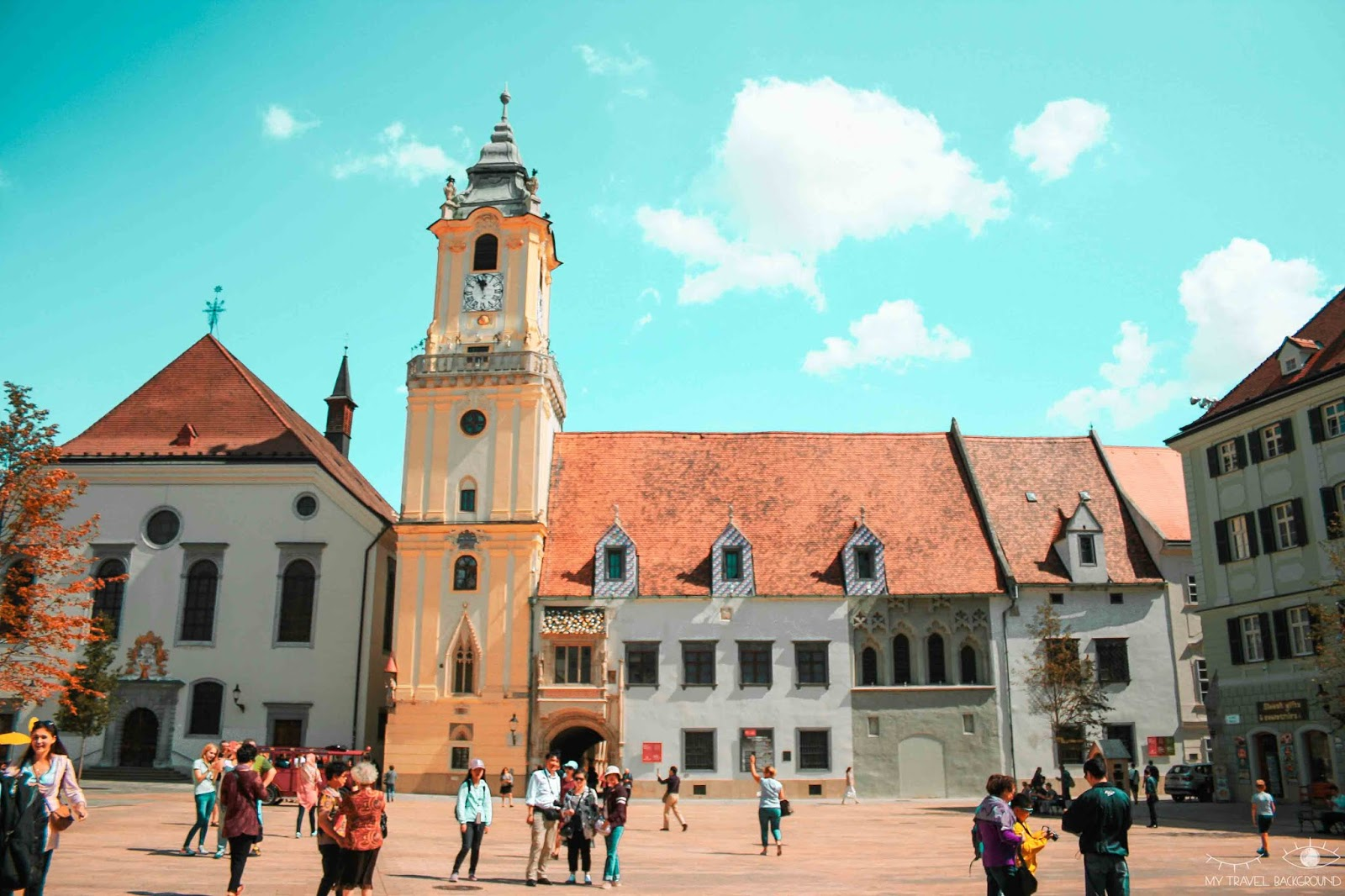 My Travel Background : visiter Bratislava, la capitale de la Slovaquie, en 1 jour