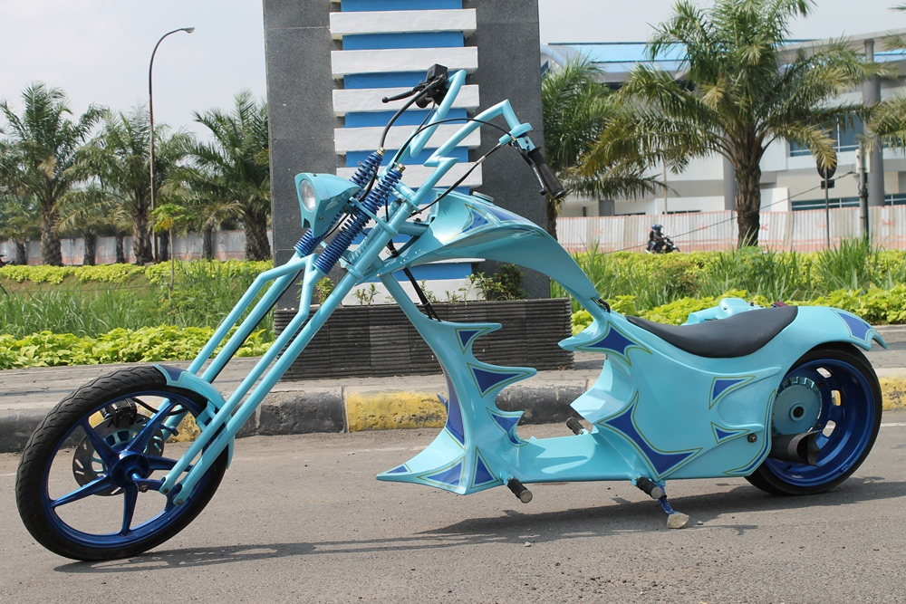 Aliran Modifikasi Vespa Chopper
