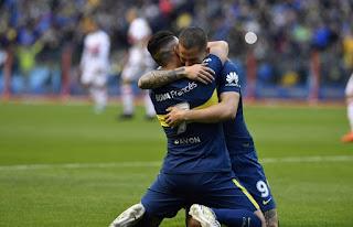 """Fue 1-0 en La Bombonera, con gol de Cristian Pavón en el arranque del partido. Cardona se fue expulsado en el local y Mellado en """"Chaca"""". """"El Xeneize"""" sigue en lo más alto de la tabla, con 15 puntos."""