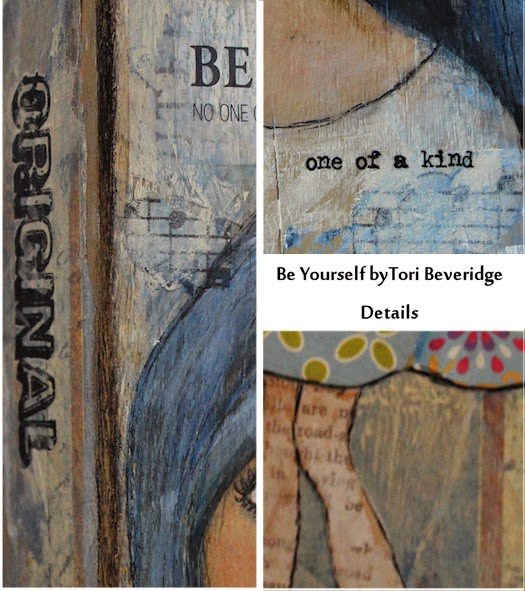 Be Yourself Inspiration Block by Tori Beveridge Details