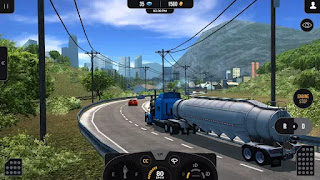 Download Truck Simulator PRO 2 V1.5 MOD Apk + DATA ( Full )