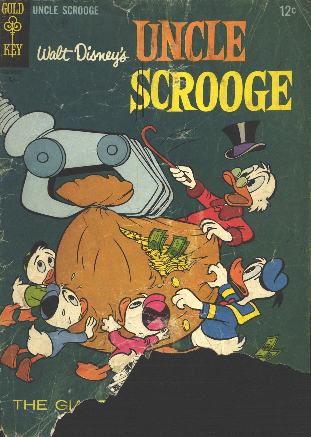 Read online Uncle Scrooge (1953) comic -  Issue #58 - 1