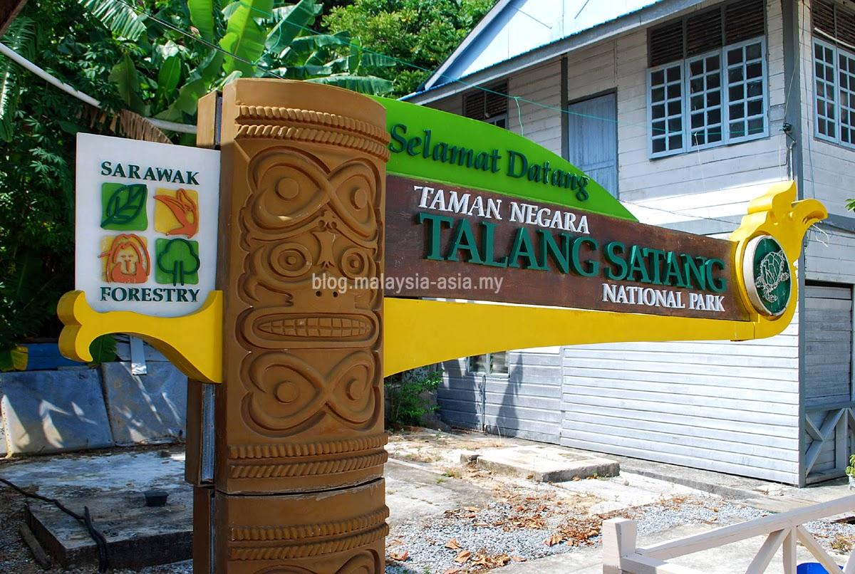 Talang Satang National Park Sarawak