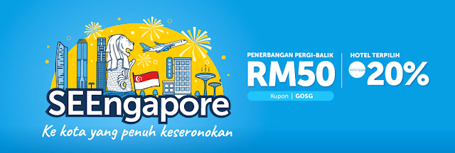 cuti ke singapore dengan traveloka promotion