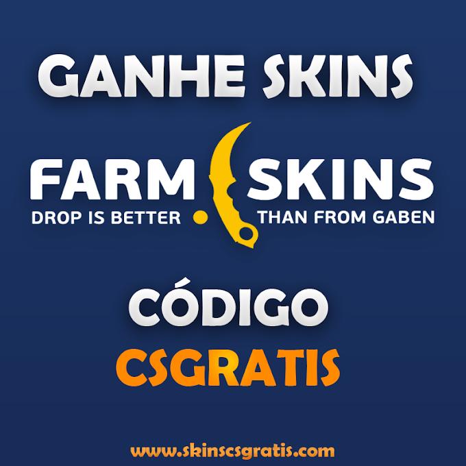FARMSKINS GANHE SKINS DE CSGO SEM DEPOSITAR