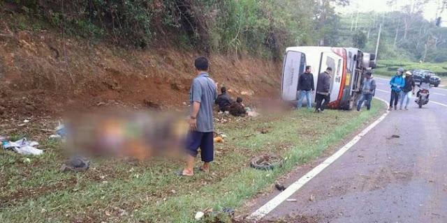Simak, Ini Daftar Nama Korban Kecelakaan Maut di Subang