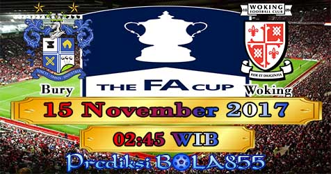 Prediksi Bola855 Bury vs Woking 15 November 2017