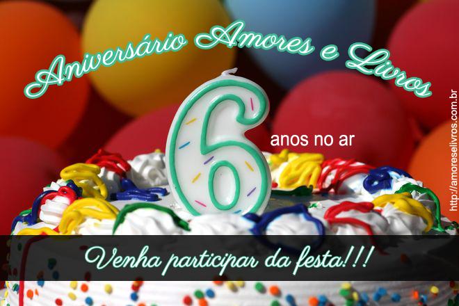 Sorteio: Aniversário do blog Amores e Livros