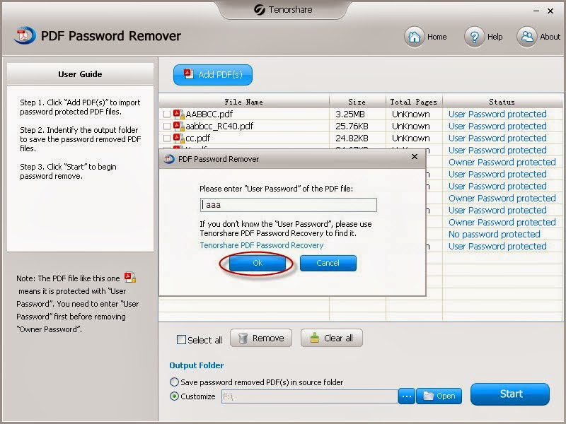 pdf password remover free download full version