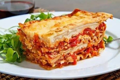 Resep Lasagna Ayam Kentang
