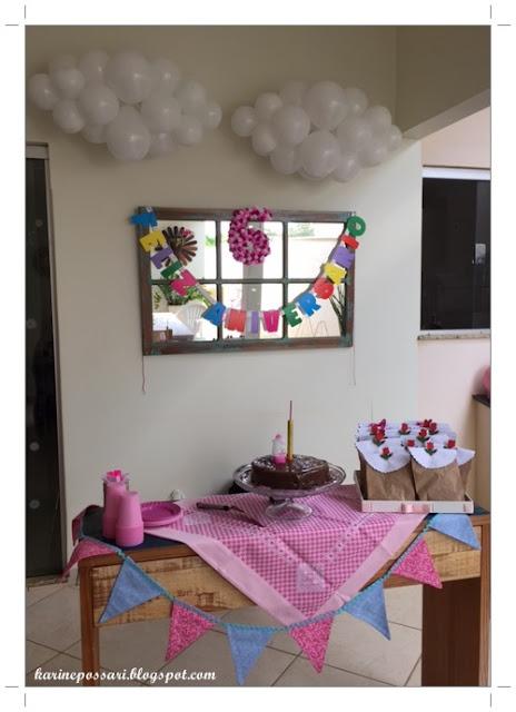 decoração simples