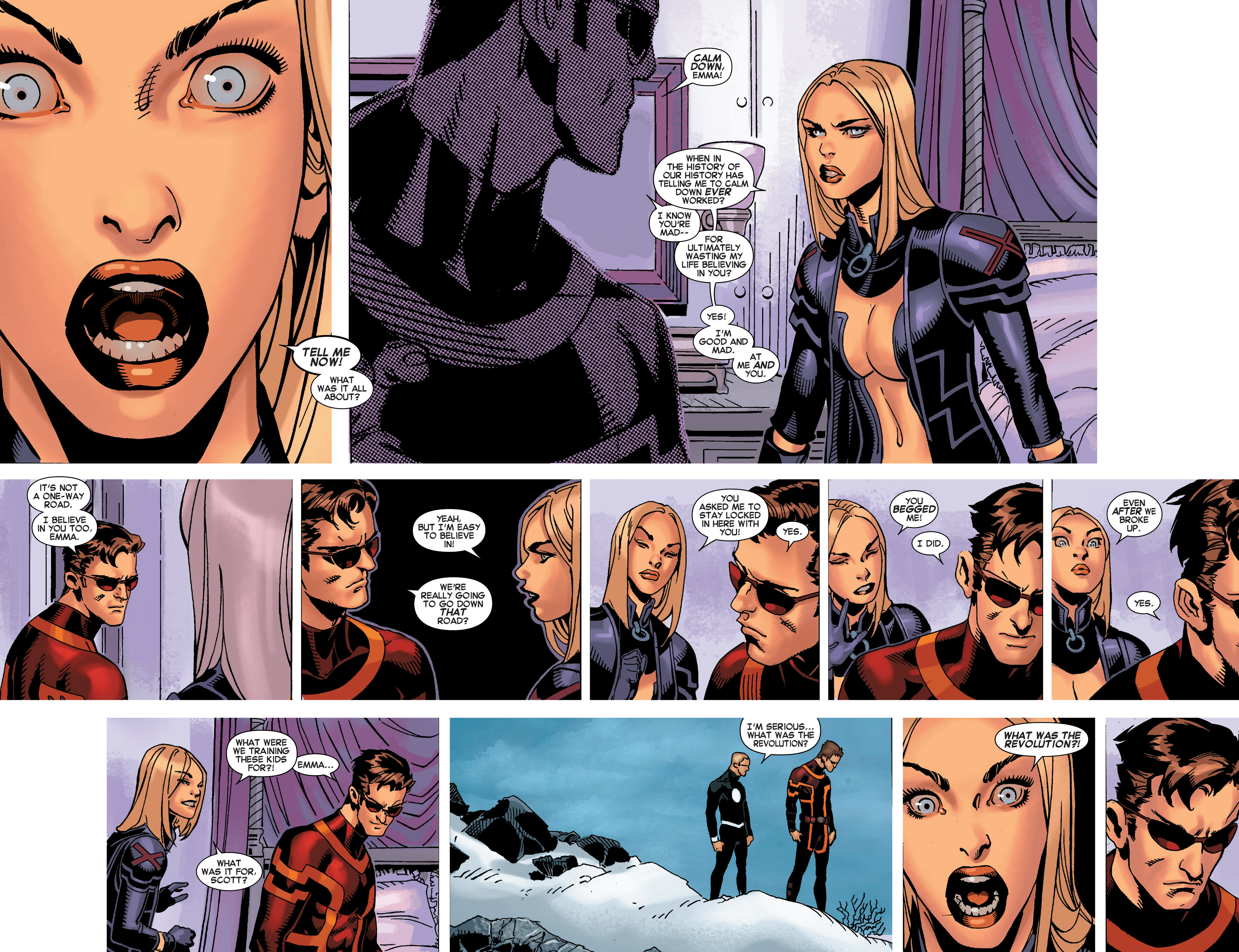 Read online Uncanny X-Men (2013) comic -  Issue #32 - 13