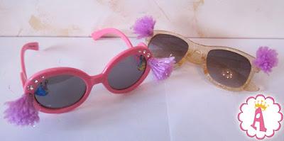Солнцезащитные очки с помпонами Пом Пом Вау
