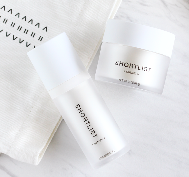 Shortlist, Shortlist Serum, Shortlist Cream, Shortlist Review, Shortlist Beauty Review, Less Is More Beauty, Shortlist Skincare