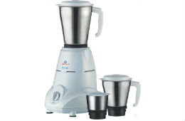 Bajaj Rex 500-Watt Mixer Grinder with 3 Jars For Rs 1,849 (Mrp 3499) at Amazon