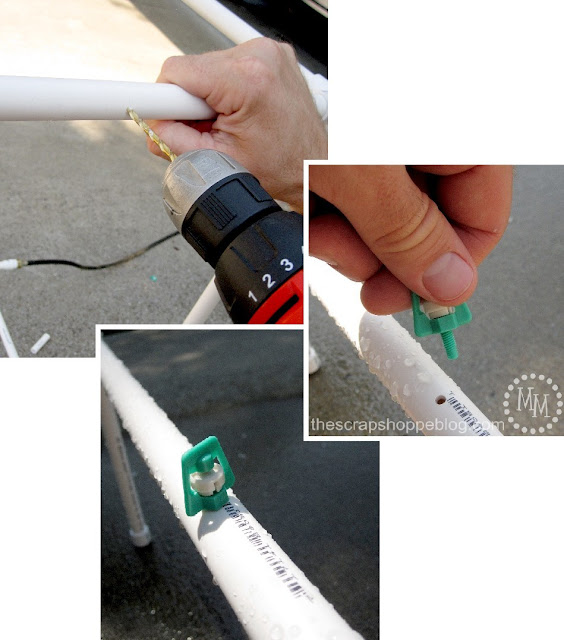 BEST PVC Pipe Car Wash Tutorial adding misters