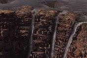 Waterfall in Wakanda is in the Real World