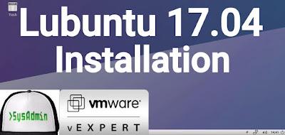 Lubuntu 17.04 Installation