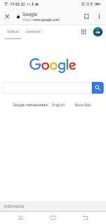 Cara Membuka Google di HP