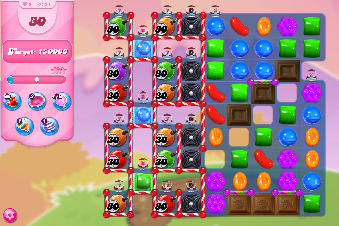 Candy Crush Saga level 4111