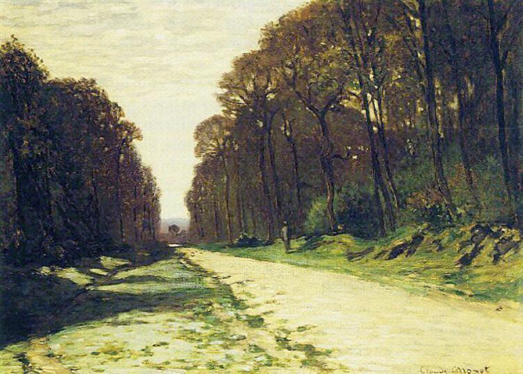 Claude Monet, das Leben, überraschen, Loslassen, Vergangenheit, Zukunft,  Gelassenheit, Vertrauen, kontrolle aufgeben, urteilen, vorurteile haben, erinnerungen, gedanken, gefühle, angst, sorgen, den weg gehen, die zeit schafft abstand, schmerz, vergessen, unbeschwert, paintings, malerei, bild, poetische Art